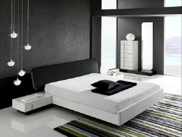 الوان داكنة لحوائط غرف النوم