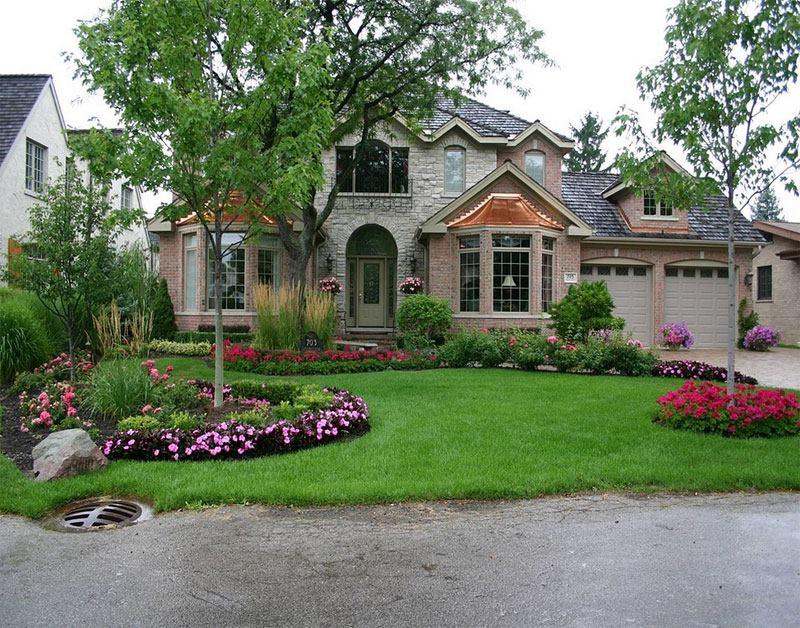 تصاميم حدائق منزلية
