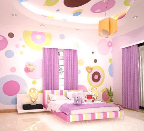 ديكورات جبس أسقف (جبسون بورد) لغرف لاطفالك