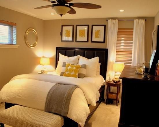 ديكور غرفة نوم صغيرة ومريحة