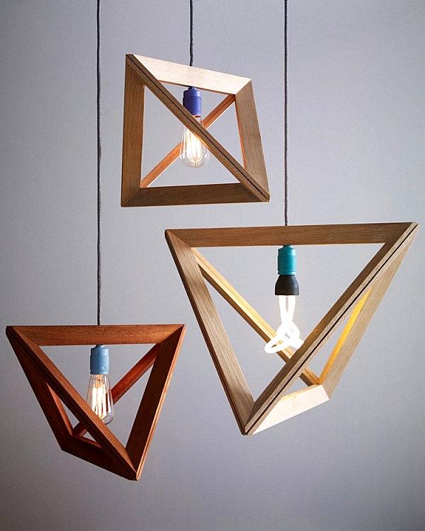 ضوء معلق لتزيين منزلك باشياء بسيطة
