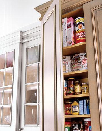 افكار خزائن لاستغلال المساحات في المطبخ