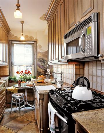 افكار لاستغلال المساحات في المطبخ