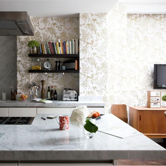 ورق جدران للمطبخ