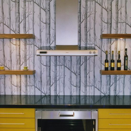 ورق جدران لمطبخ منزلك