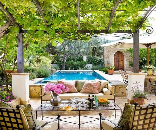 أفكار لطاولات حدائق