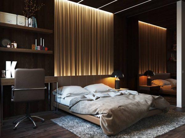 احدث طرق انارة غرف النوم