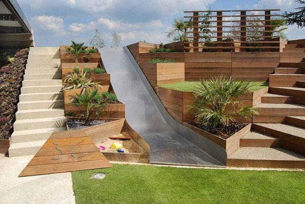 احواض زراعه خشبية لحديقة منزلك