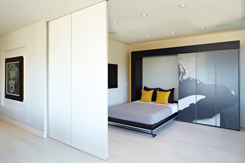 استغلال المساحات في غرف النوم الضيقة