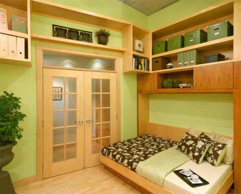 استغلال مساحات غرفة النوم