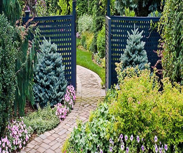 افكار تزيين الحدائق المنزلية