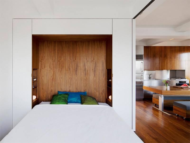 افكار غرف نوم للمساحات الصغيرة