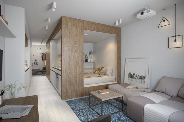 افكار غرف نوم للمنازل الصغيرة