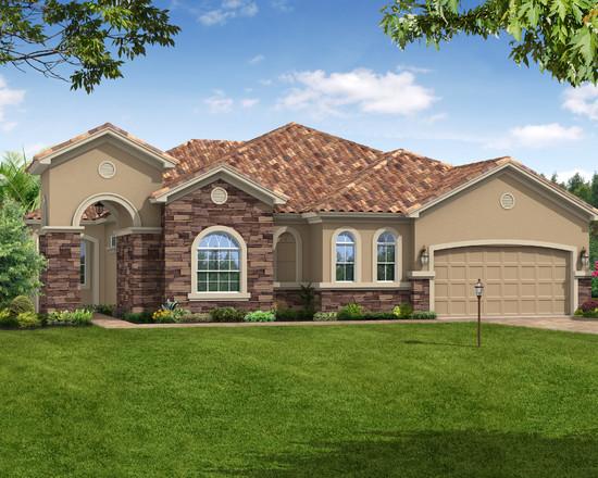 التصميم الخارجي لمنزل رائع وفاخر