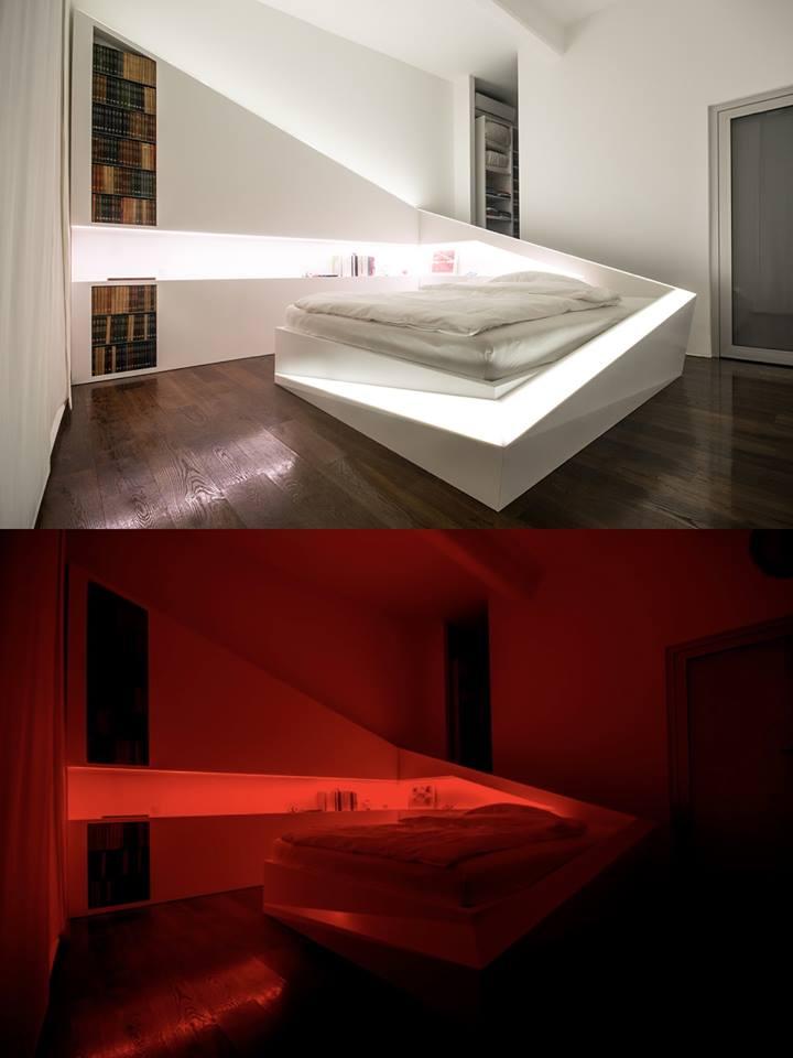 انارة حديثة لغرف النوم