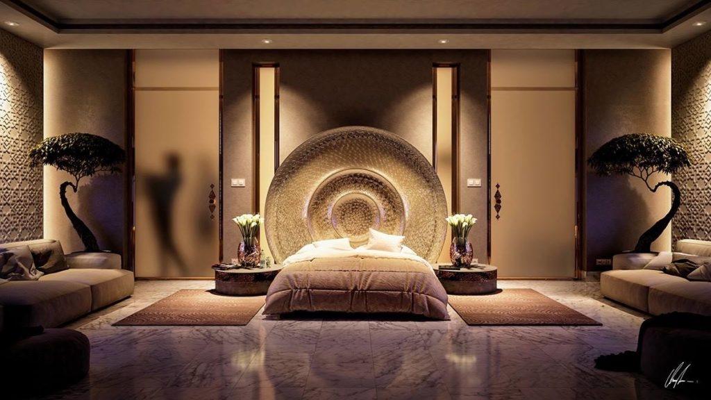 انارة غرف نوم