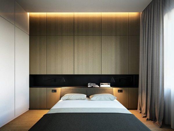 انارة غرف نوم مخفية مودرن