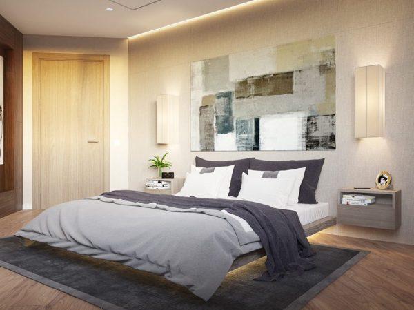 انارة مخفية مبتكرة لغرف النوم