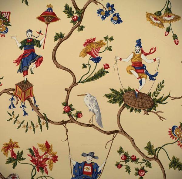 اوراق جدران سيرك Ming الأسيوي