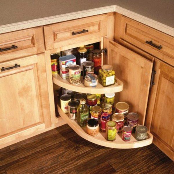 ترتيب ادوات المطبخ الصغير