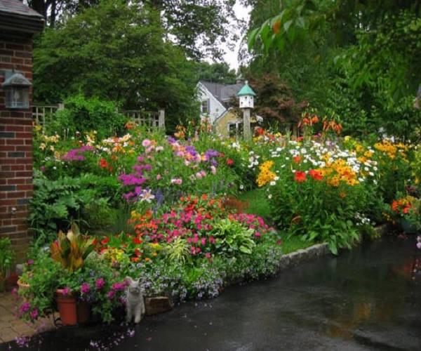 تزيين الحدائق المنزلية