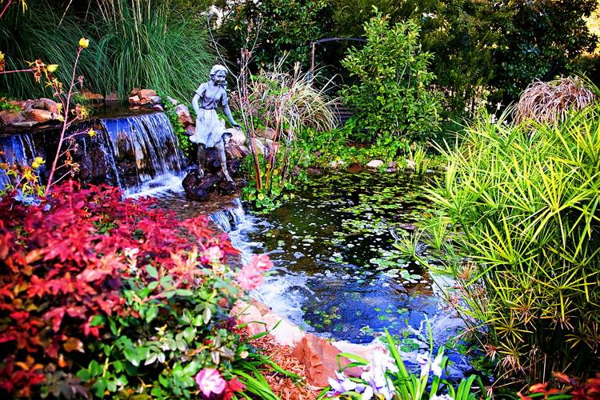 تزيين حدائق منزلية