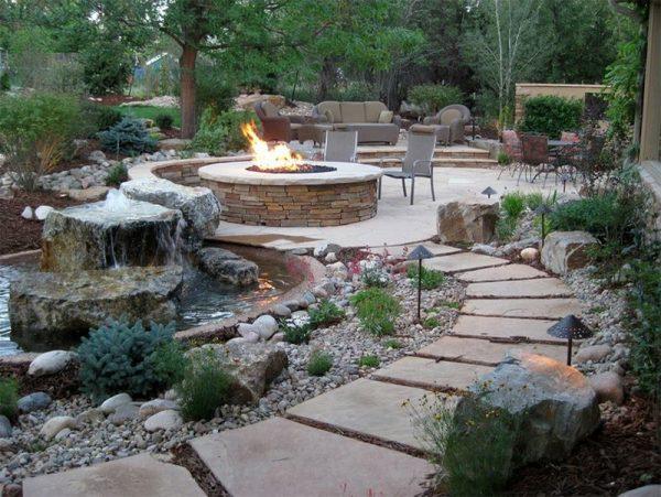 تصاميم حدائق خارجية للمنزل