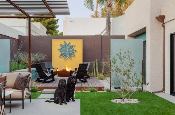 تصميم حدائق منزلية صغيرة