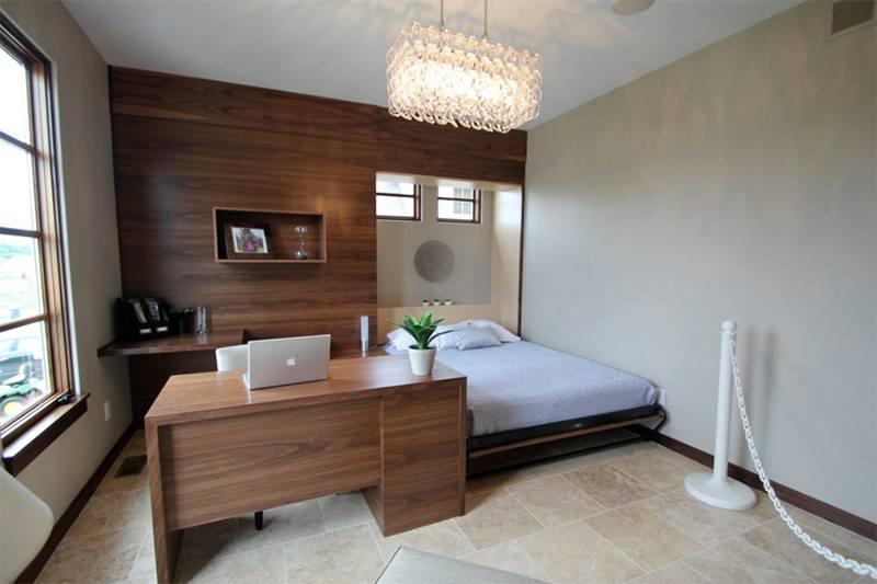 تصميم سرير قابل للطي