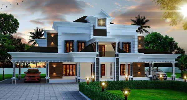 تصميم منازل من الخارج