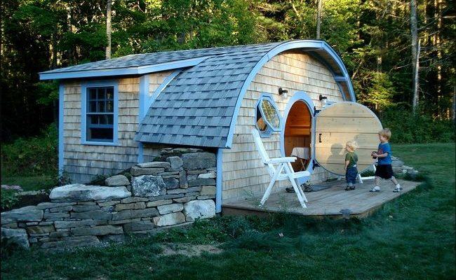 منزل العاب خارجي للاطفال بحديقة المنزل ب 15 تصميم