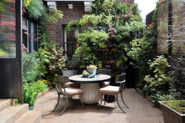 تصميم حدائق منزلية صغيرة جدا