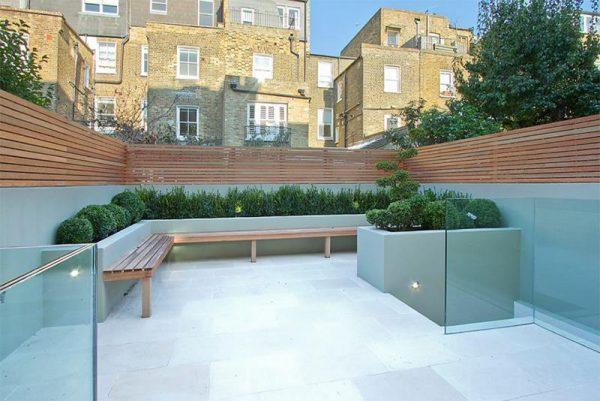 تصميم لحديقة منزلية صغيرة