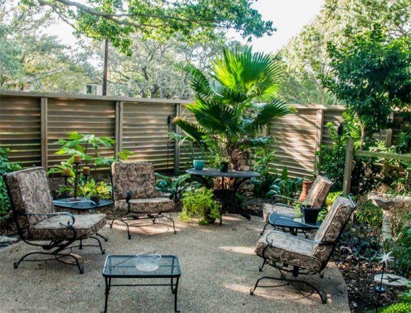 جلسات حدائق منزلية مودرن