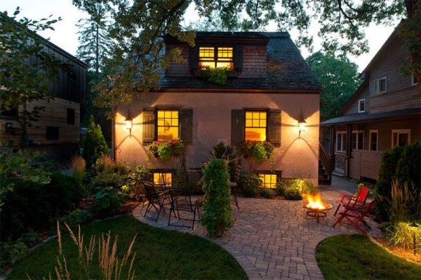 جلسة حدائق منزلية
