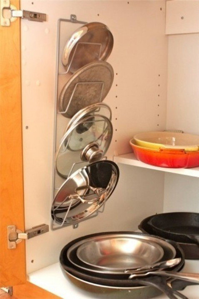 حامل أغطية الأواني لترتيب مطبخك