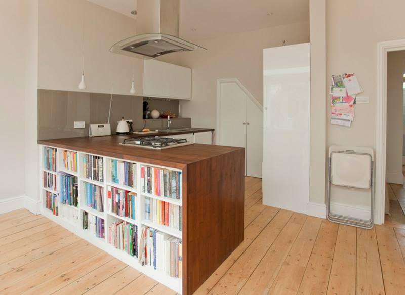 خزانة كتب للمطبخ
