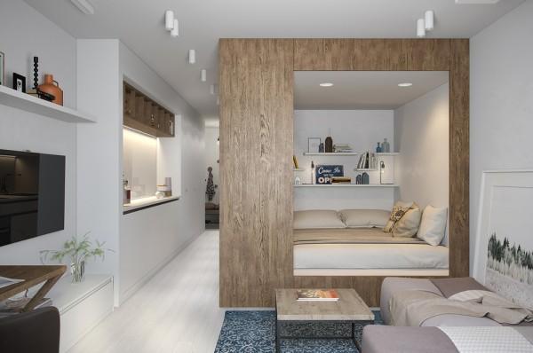 ديكور غرفة نوم للشقق الصغيرة