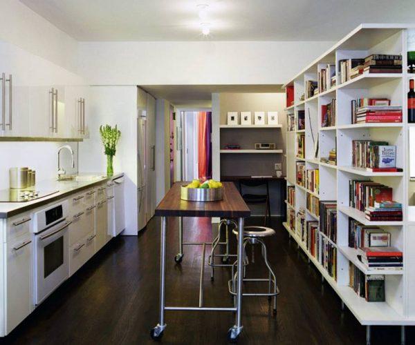 رفوف كتب للمطبخ