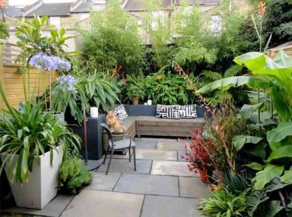 صور تصميم حدائق منزلية صغيرة