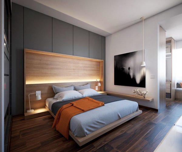 طرق مودرن لانارة غرف النوم