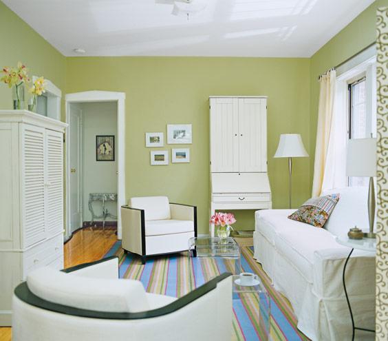 غرفة معيشة صغيرة مودرن
