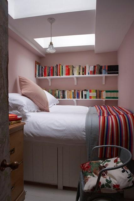 افكار لاستغلال المساحات الضيقة في غرفة نومك