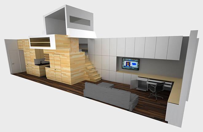 تصميم منازل صغيرة 8