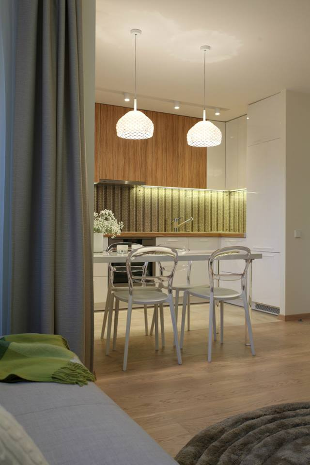 ديكورات إضاءة لمنازل صغيرة المساحة