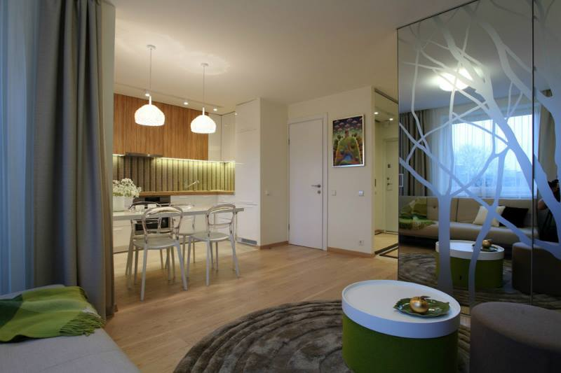 ديكورات حديثة لمنازل صغيرة المساحة