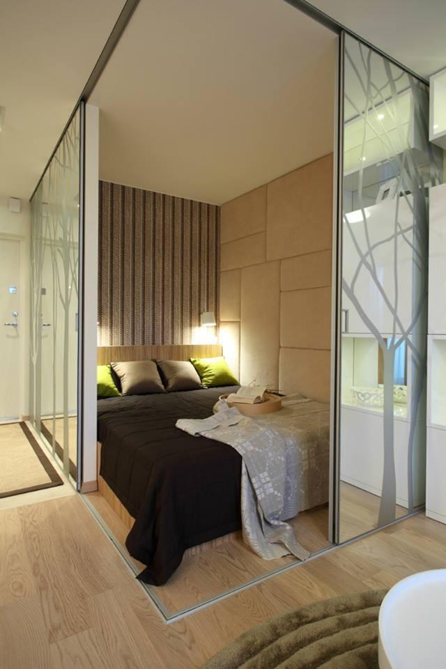 ديكورات غرف نوم لمنازل صغيرة المساحة