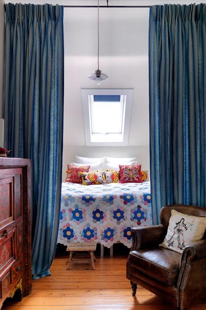 ديكور انيق لغرفة نوم صغيرة