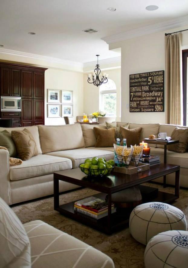افكار صالات جلوس 10 أفكار رائعة لإضفاء لمسات رائعة على غرفة العائلة عرب ديكور