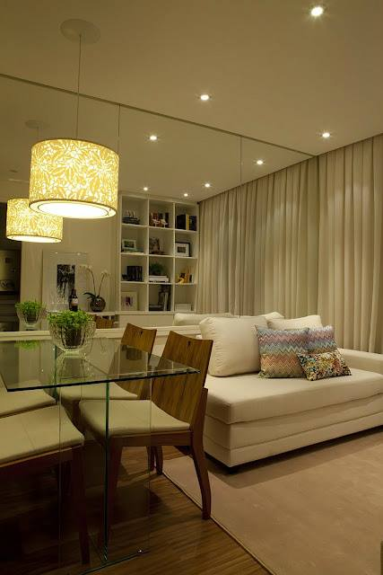 غرف معيشة صغيرة المساحة 1